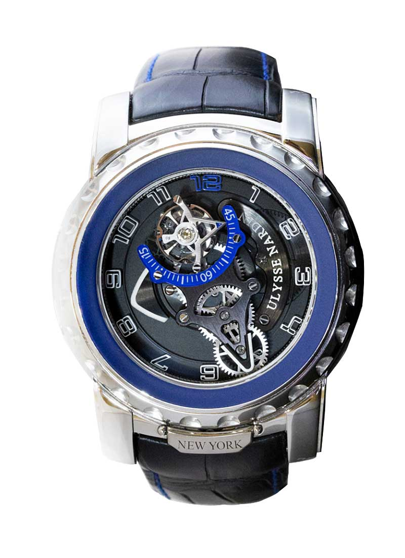 Ulysse Nardin Freak Diavolo Tourbillon 8-Day in Platinum - Limited Edition of 10 pcs. Only!