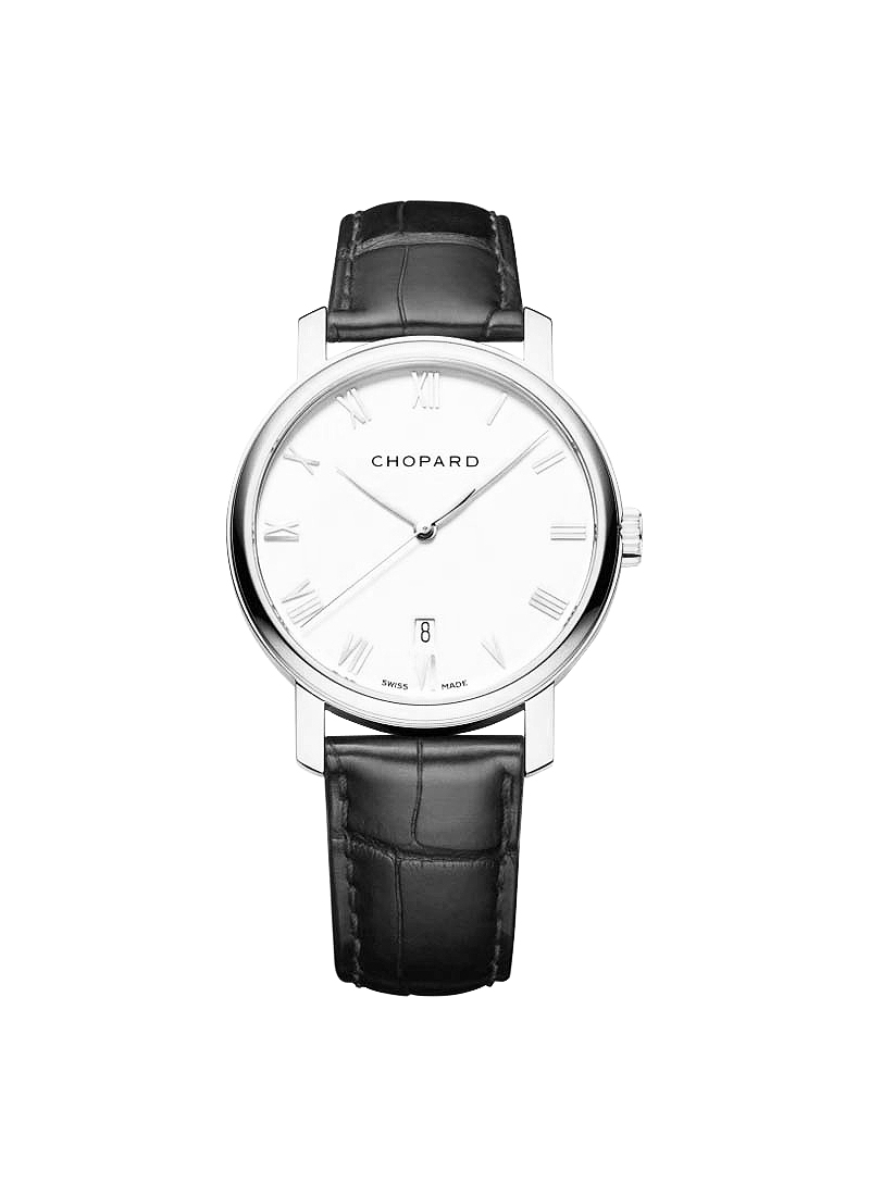 Chopard Classique Homme 33mm in White Gold