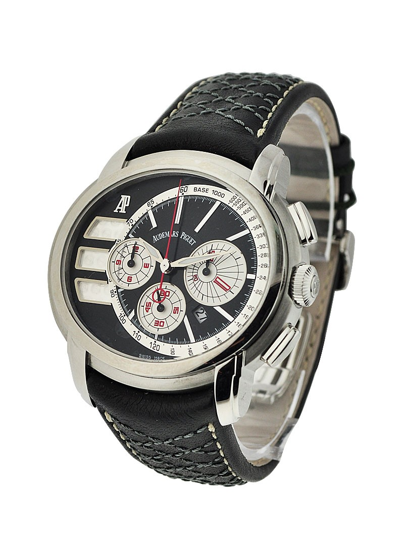 Audemars Piguet Millenary Chronograph Tour Auto 2011 in Stainless Steel