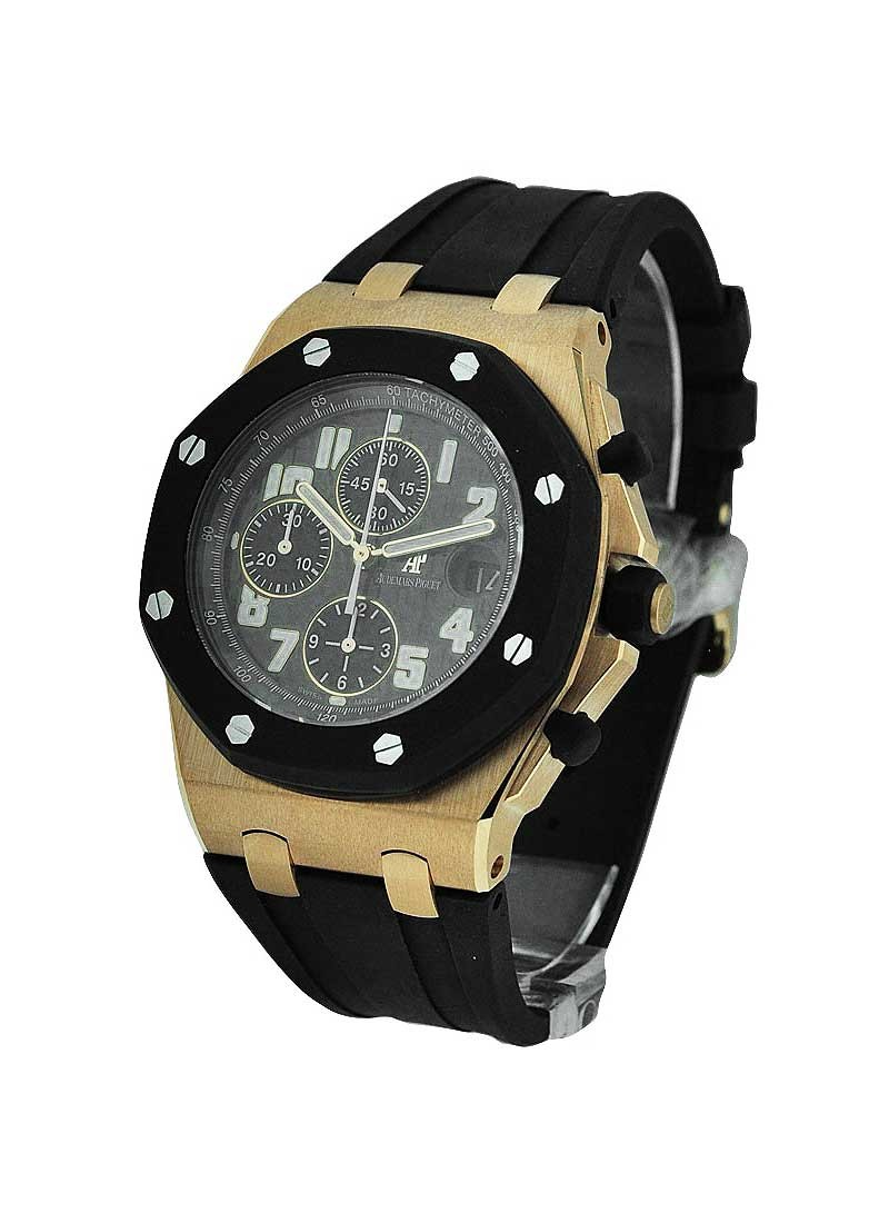 Audemars Piguet Royal Oak Offshore Rose Gold Rubber Clad