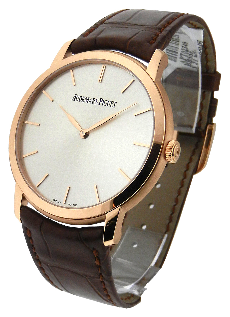 Audemars Piguet Jules Audemars Ultra Thin Mens in Rose Gold