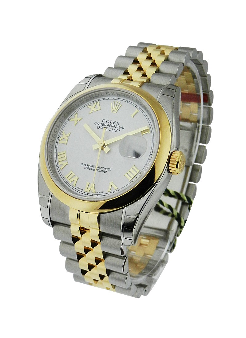 Rolex Unworn Men's 2 Tone DATEJUST with Jubilee Bracelet