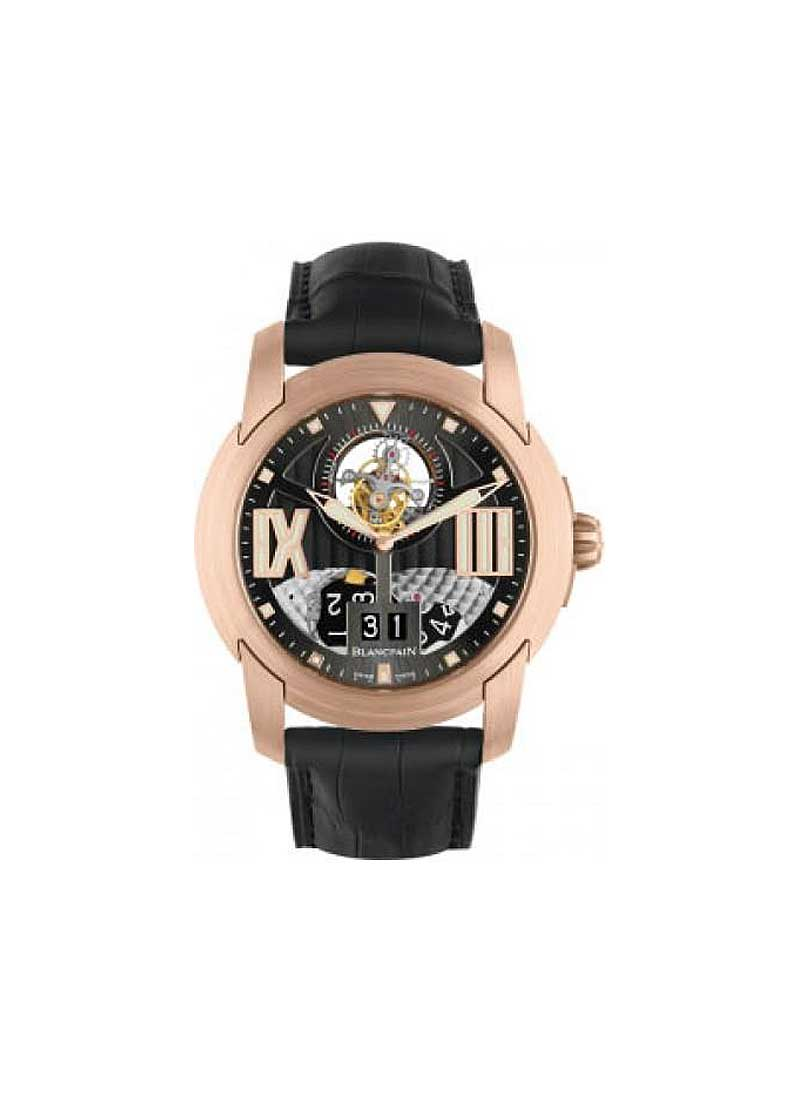 Blancpain L-evolution Tourbillon Large Date 43.5mm Automatic in Rose Gold
