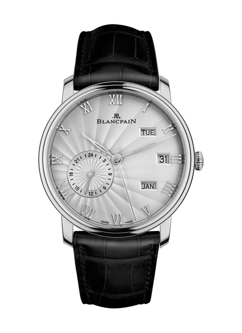 Blancpain Villeret Annual Calendar GMT 40mm Automatic in White Gold