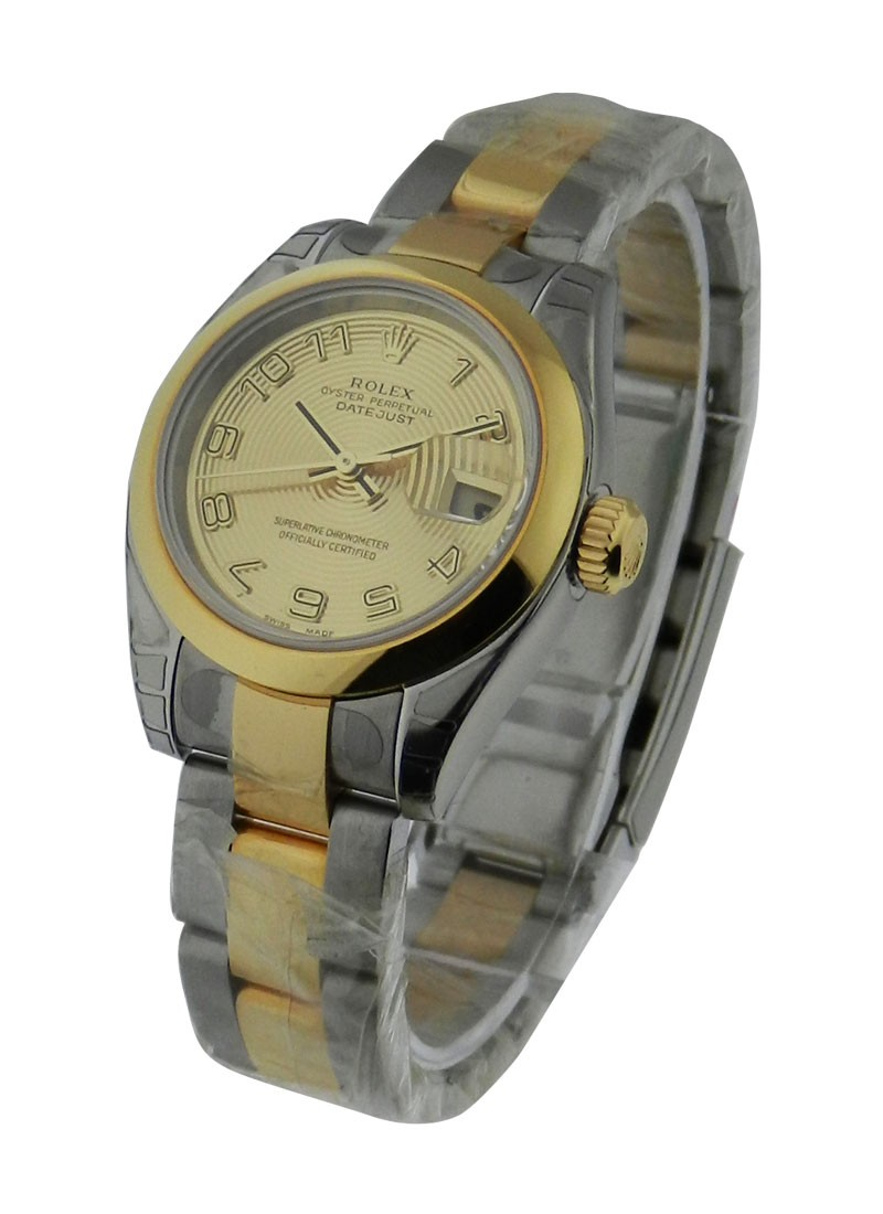 Rolex Unworn Datejust Lady 2 Tone with Oyster Bracelet