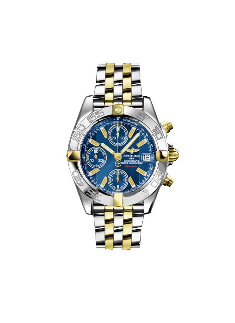 Breitling Windrider Chrono Galactic Men's Automatic in 2 Tone