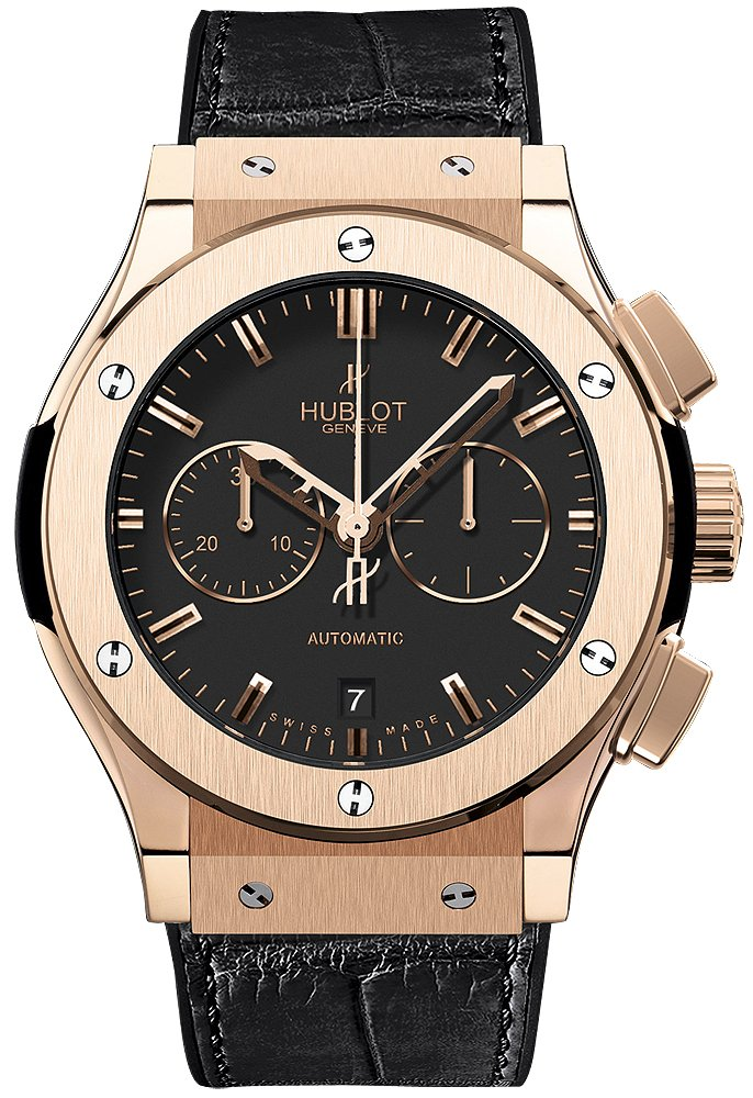 Hublot Classic Fusion 45mm Chronograph in Roe Gold