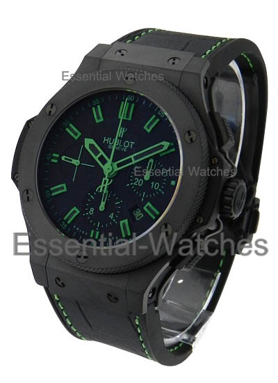 Hublot Big Bang All Black Green in Black Ceramic