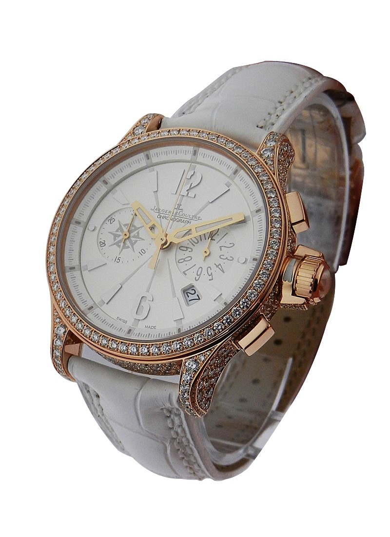 Jaeger - LeCoultre Lady''s Master Compressor Chronograph with Diamonds