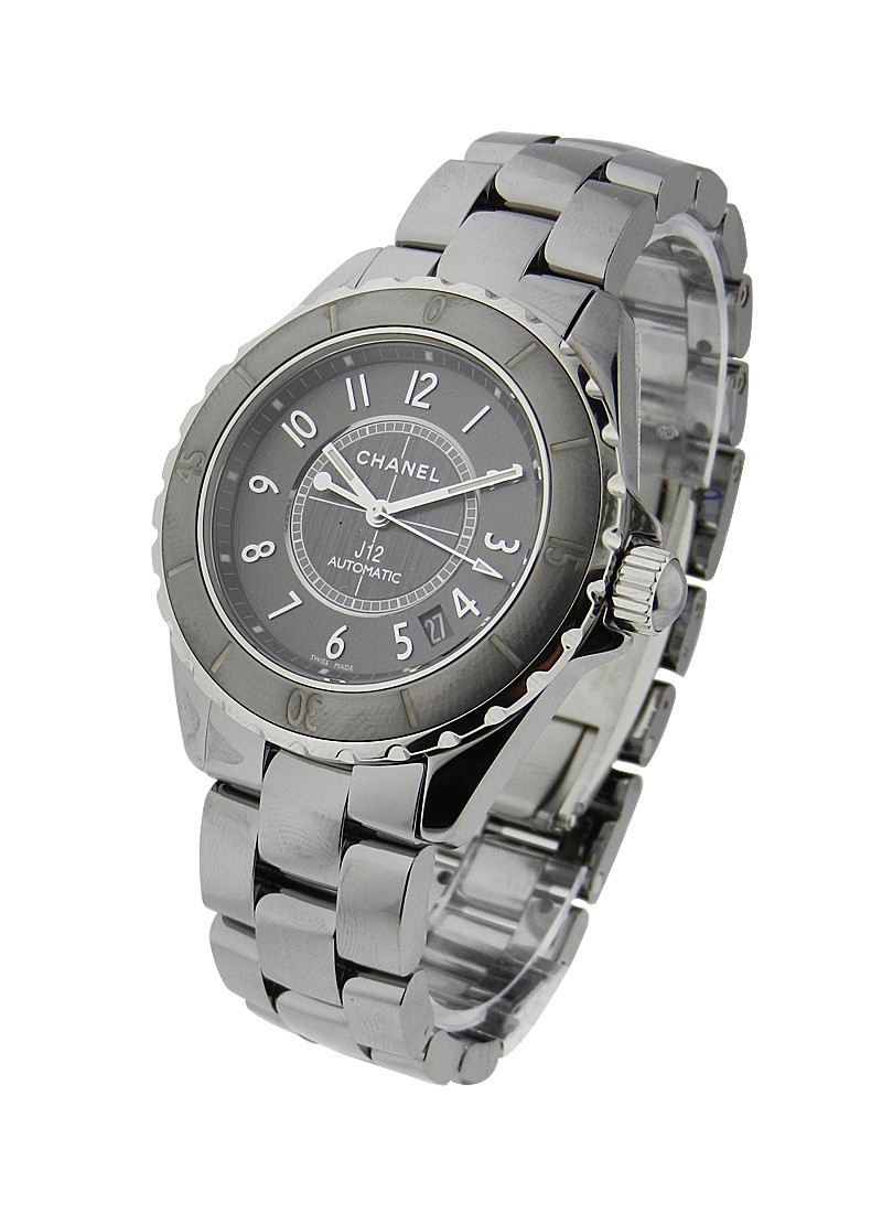 Chanel 38mm J12 Titanium Ceramic H2979