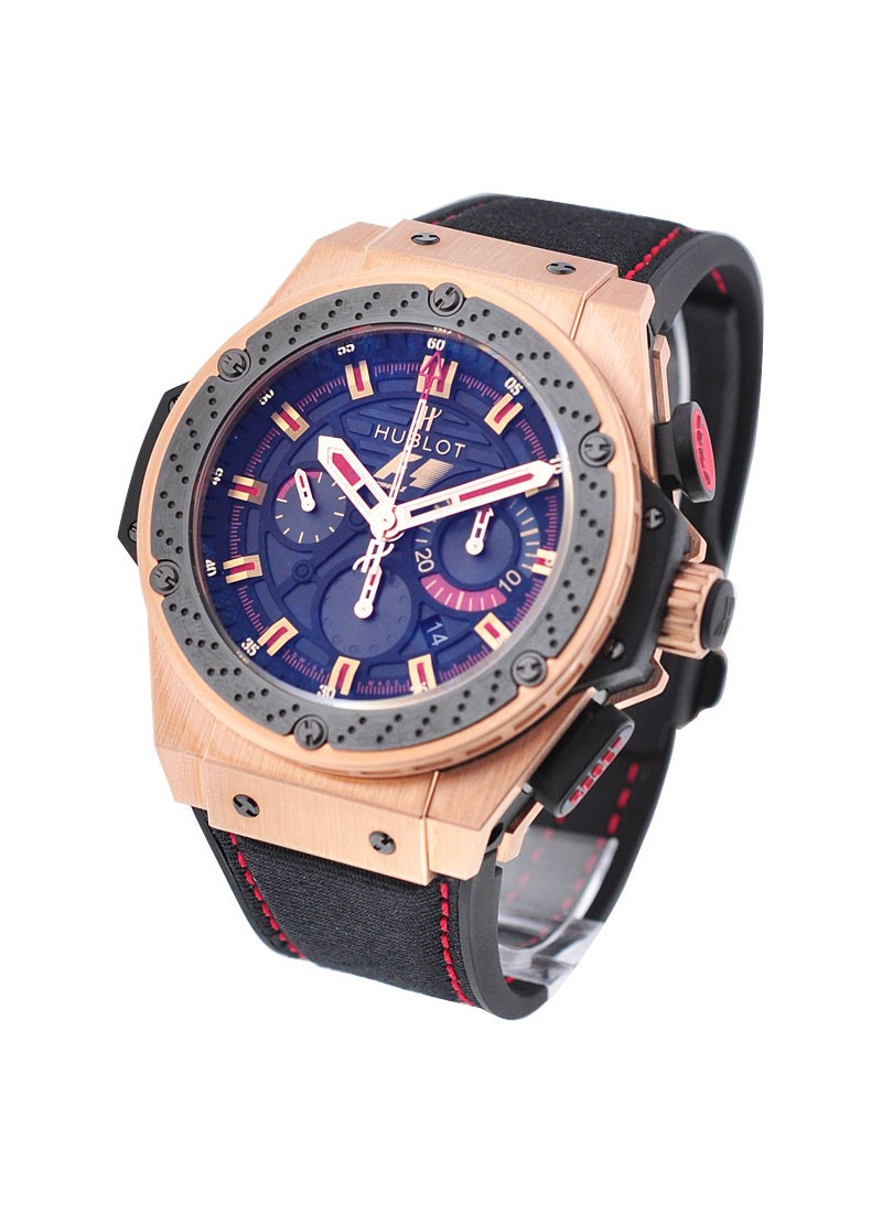 Hublot Big Bang F1 King Power in Rose Gold with Black Ceramic Bezel
