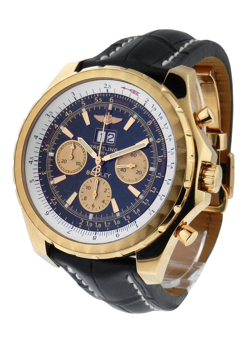Breitling Bentley Watch >> Breitling Bentley Collection 6.75 Gold | Essential Watches
