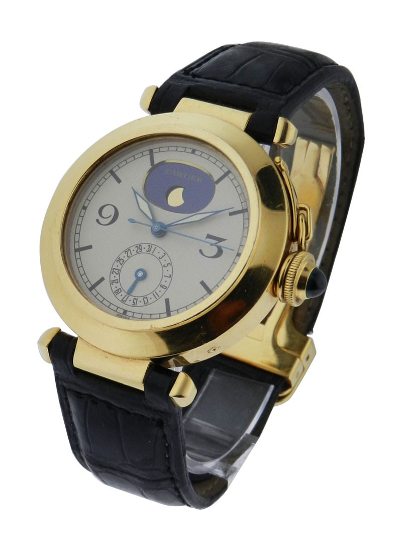 Cartier Pasha  with Moon Phase and Date