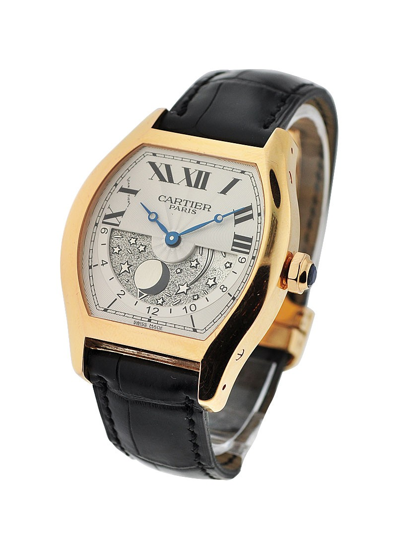 Cartier Tortue GMT Day-Night XL