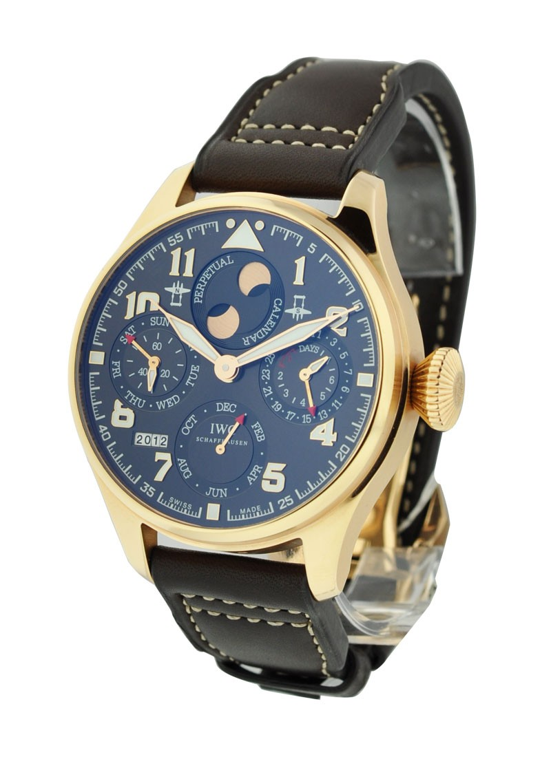 IWC Big Pilot Saint Exupery Perpetual in Rose Gold