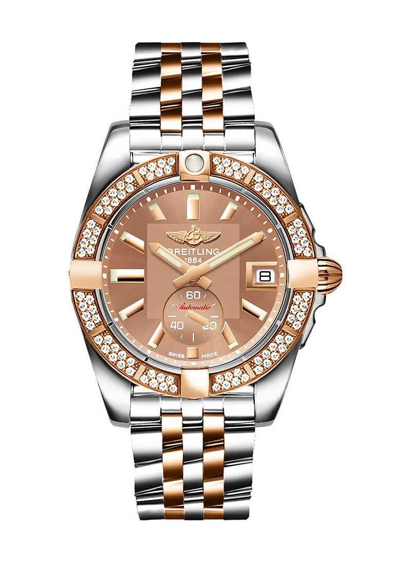 Breitling Galactic 36 Automatic in 2-Tone with Diamond Bezel