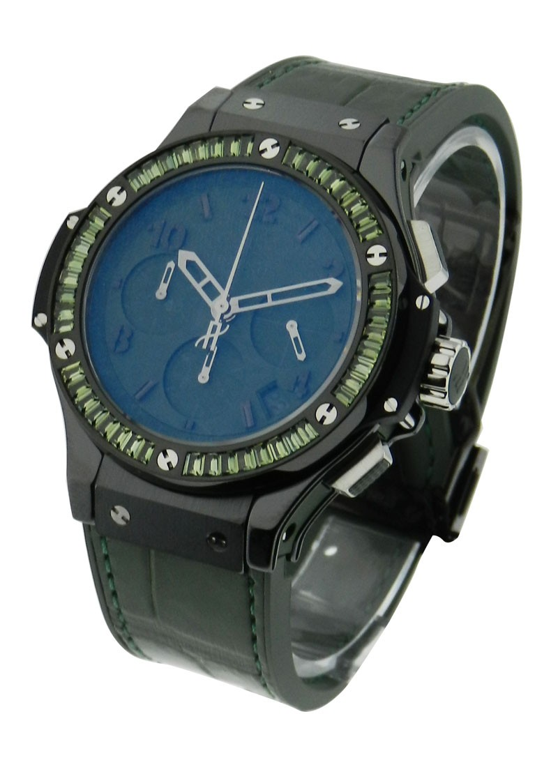 Hublot Big Bang Black Tutti Frutti Green Carat