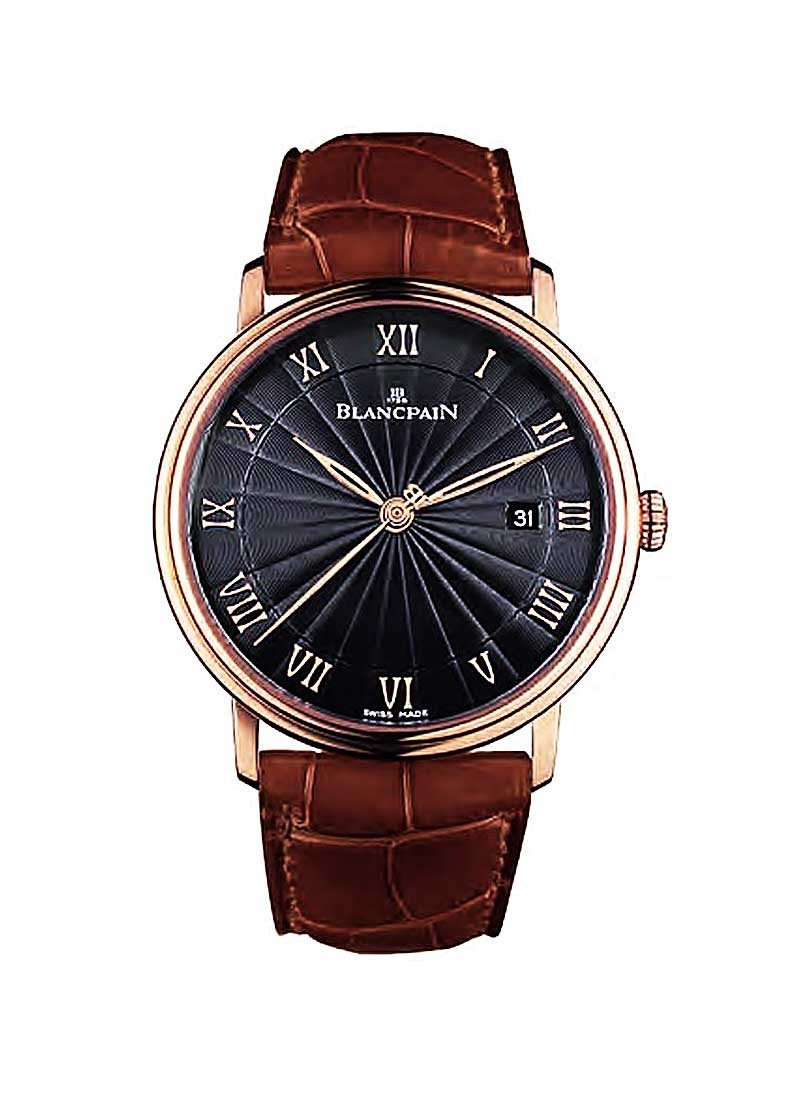 Blancpain Villeret Ultra Slim 40mm Automatic in Rose Gold