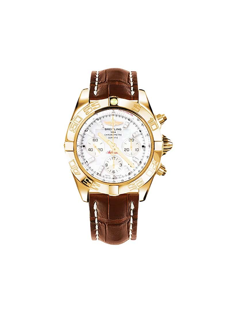 Breitling Chronomat B01 Men's Automatic Chronograph in Rose Gold