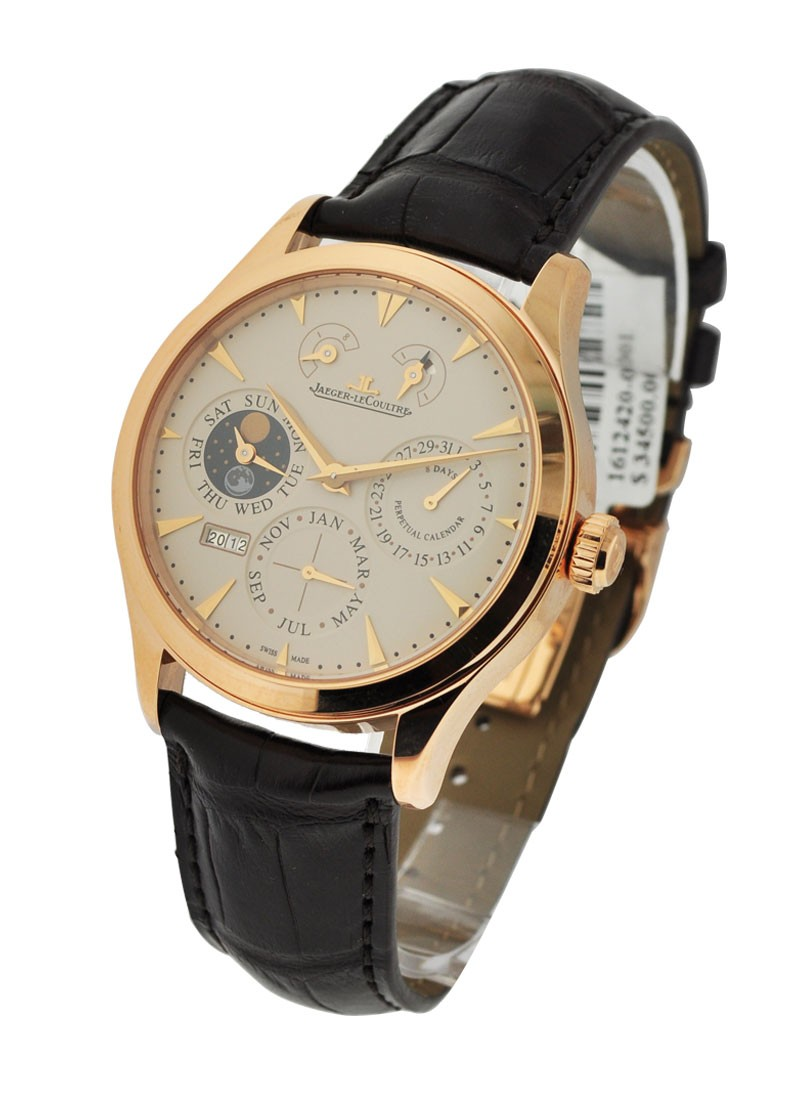 Jaeger - LeCoultre Master Eight Days Perpetual