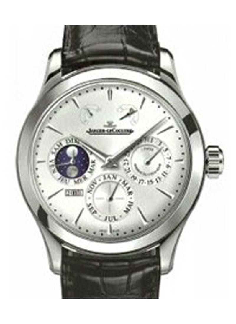 Jaeger - LeCoultre Master Eight Days Perpetual Calendar in Steel