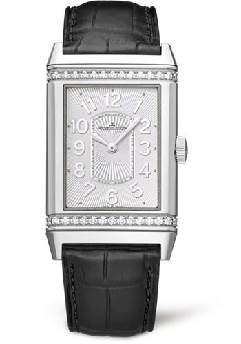 Jaeger - LeCoultre Grande Reverso Lady Ultra Thin   Partial Diamond Bezel