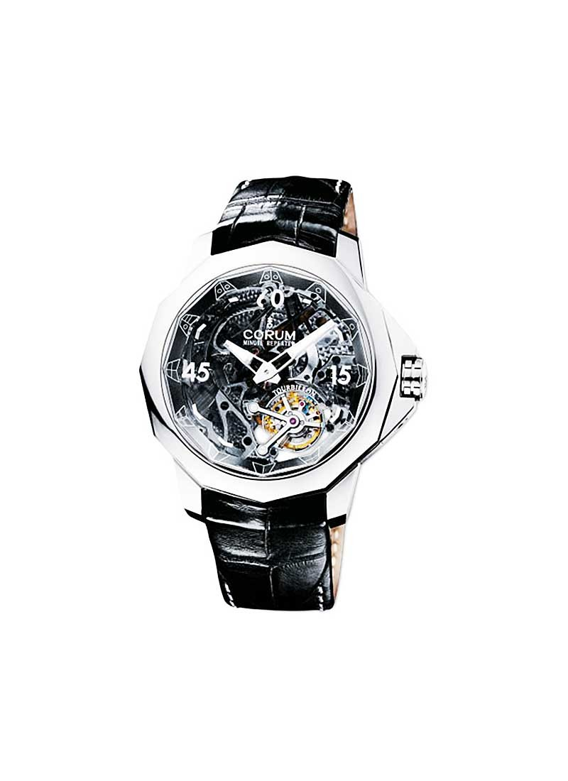 Corum Admirals Cup Legen 45 Minute Repeater in Titanium