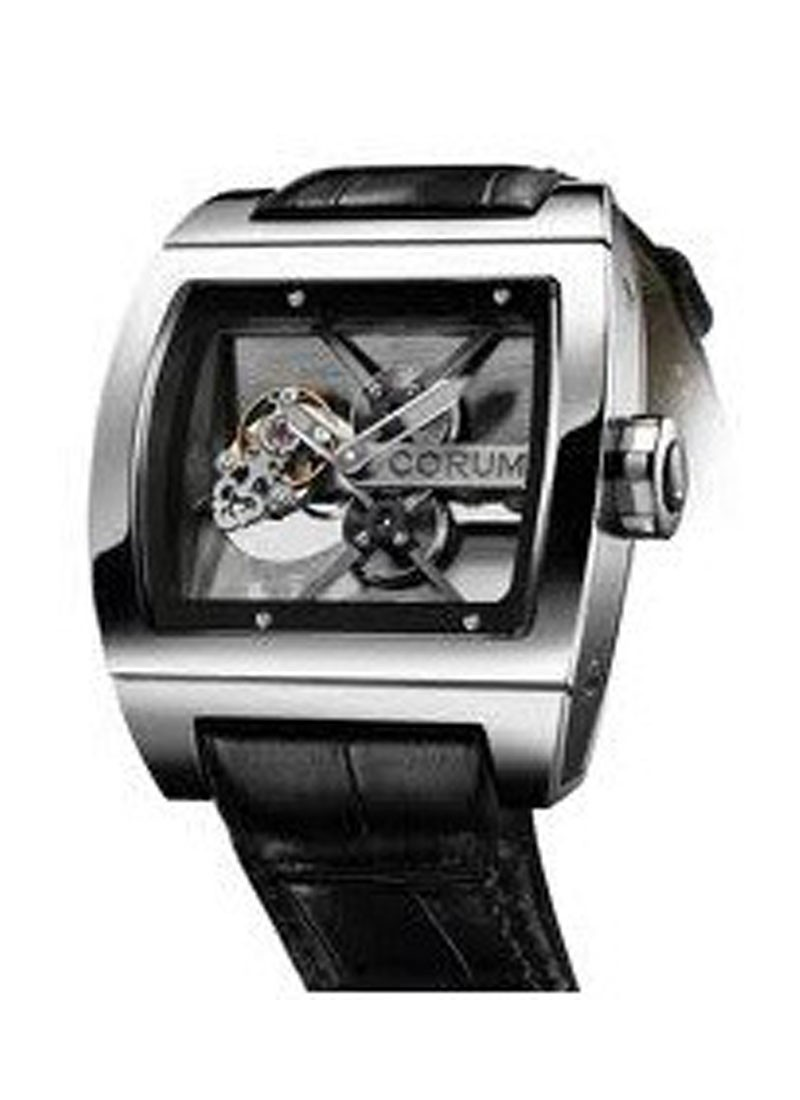 Corum Ti-Bridge Tourbillon in Titanium