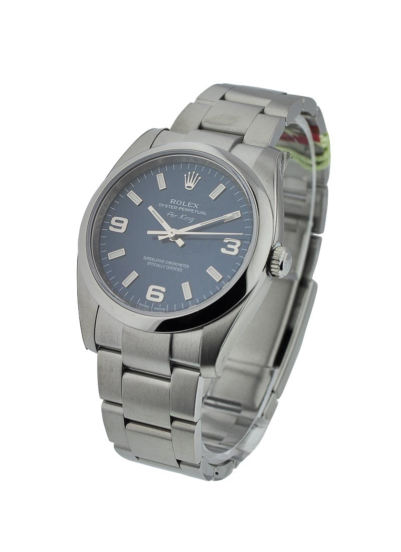 Rolex Unworn Air King Oyster Perpetual 34mm in Steel