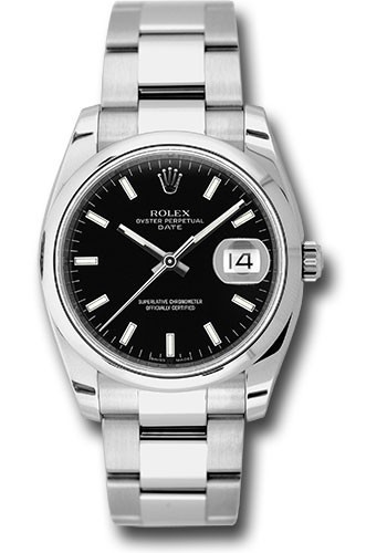 Rolex Unworn Date 34mm in Steel with Domed Bezel