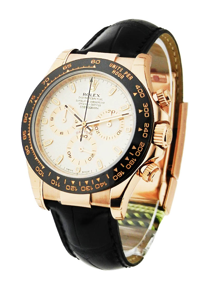 Rolex Unworn Rose Gold Daytona on Strap