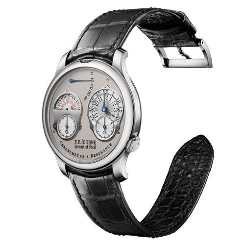 FP Journe Chronometre Resonance Dual Time in Platinum