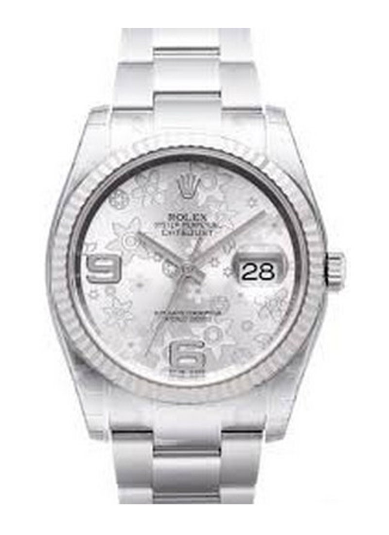 Rolex Unworn Datejust 36mm in Steel with Fluted Bezel