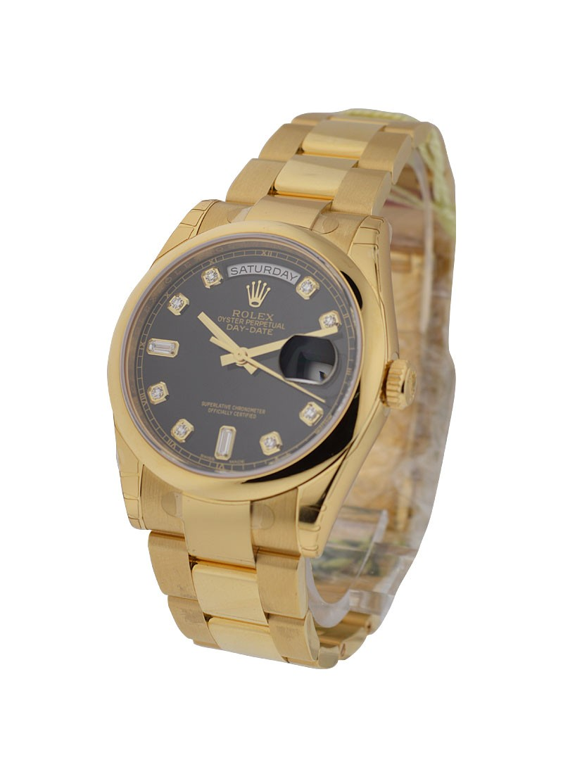 Rolex Unworn Men's Day Date President in Yellow Gold