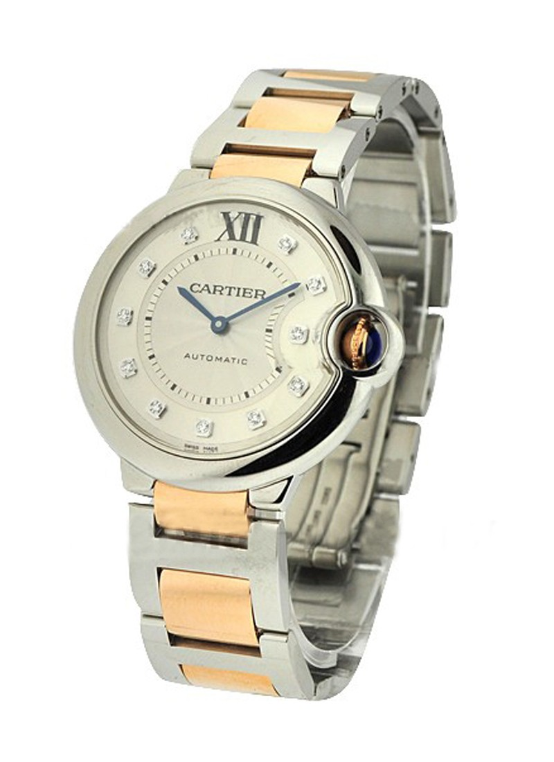 Cartier Ballon Bleu Two Tone 36mm