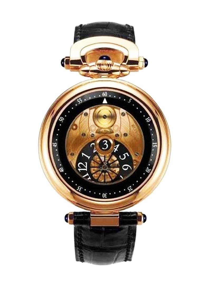 Bovet Fleurier 42 Jumping Hours Amadeo in Rose Gold