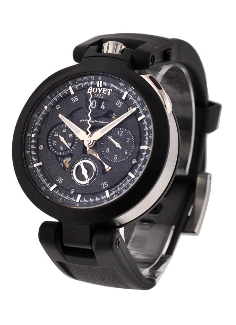 Bovet Pininfarina Chronograph Cambiano 45mm Automatic in Black PVD Steel - 2011 Edition