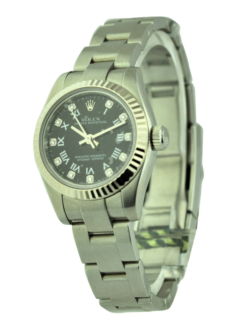 Rolex Unworn No Date Oyster Perpetual Ladies in Steel