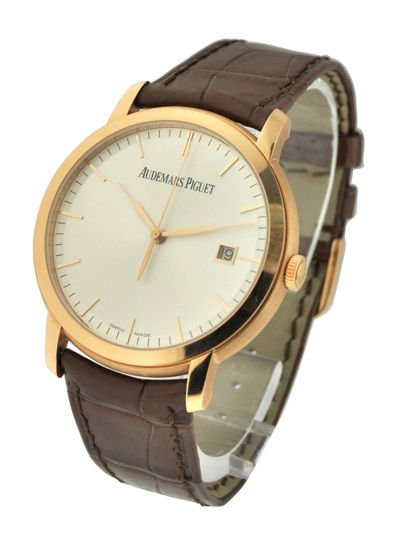 Audemars Piguet Jules Audemars Automatic with Date in Rose Gold