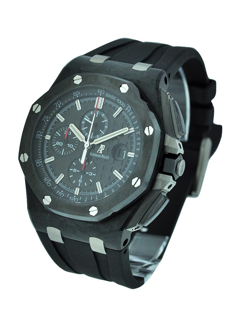 Audemars Piguet Royal Oak Offshore Chronograph 44mm in Forged Carbon with Ceramic Bezel