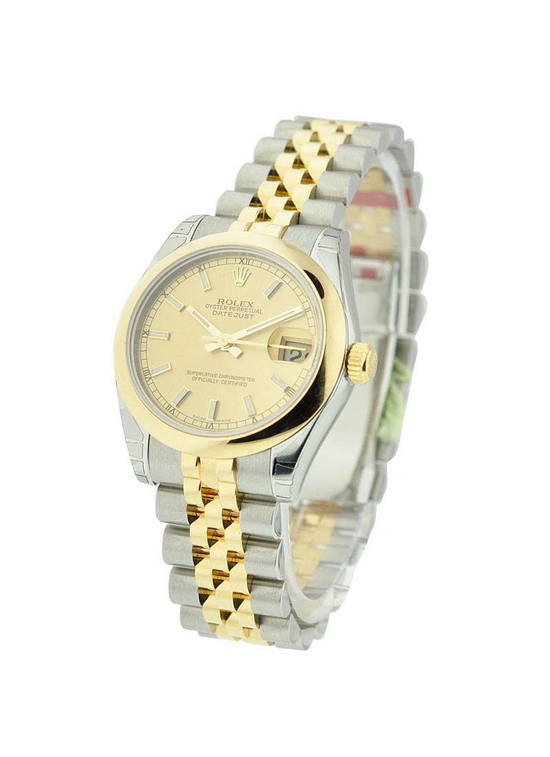 Rolex Unworn DateJust Two-Tone - Domed Bezel - Jubilee Bracelet