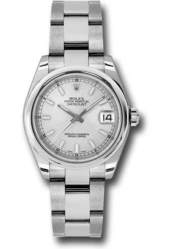 Rolex Used  DateJust 31mm with Smooth Bezel in Steel