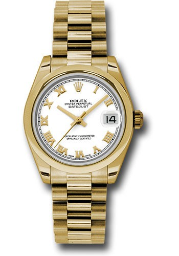 Rolex Unworn  Mid Size Yellow Gold Datejust