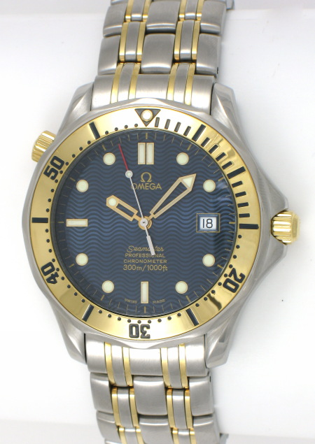 Omega Seamaster Professional in Yellow Gold and Steel