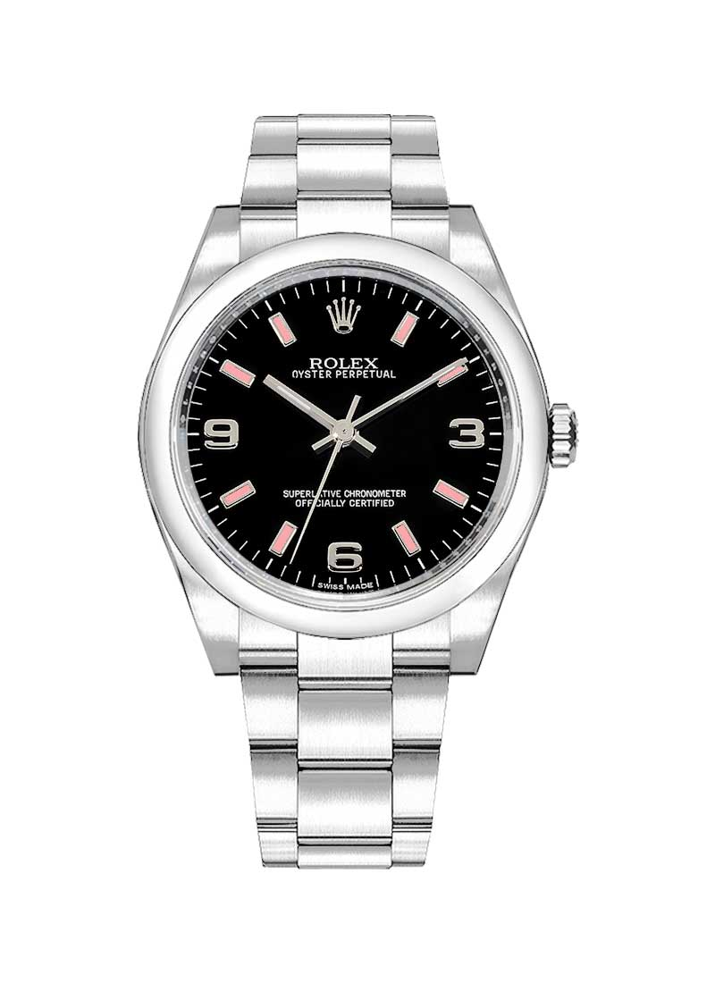 Rolex Unworn Oyster Perpetual 36mm in Steel with Smooth Bezel
