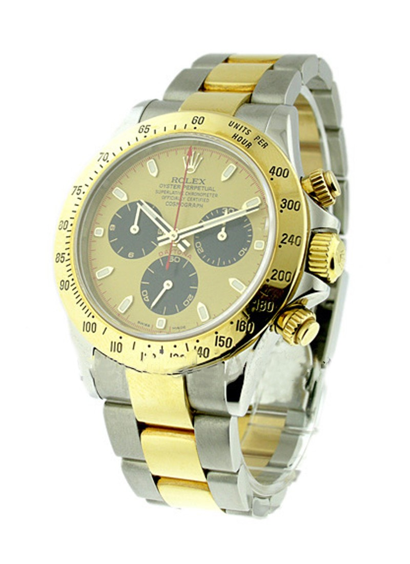 Rolex Unworn Daytona 2 Tone with Paul Newman Dial 116523