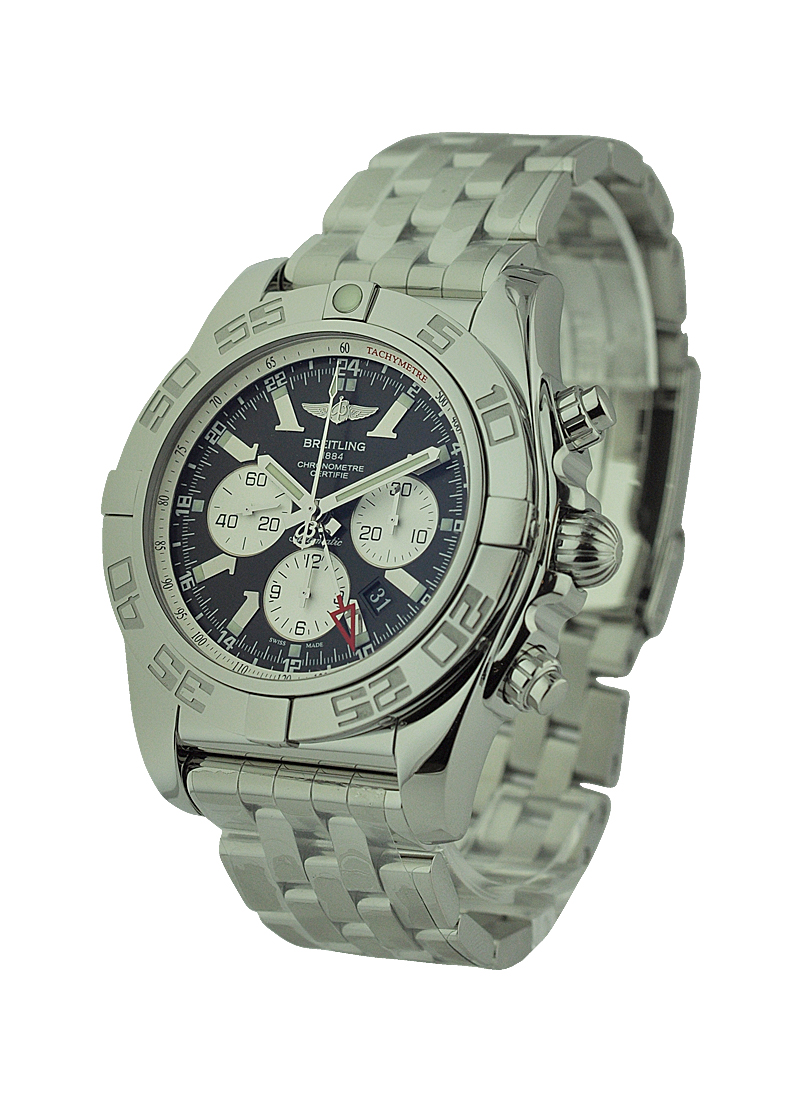 Breitling Caliber 04 Chronomat GMT in Steel