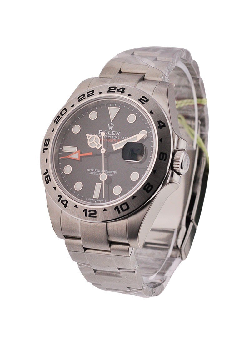 Rolex Unworn Explorer II in Steel   New Style