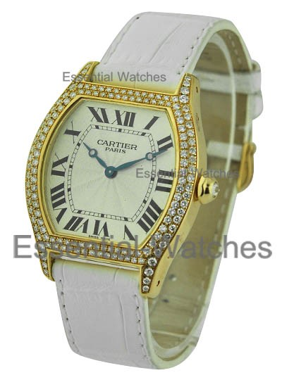 Cartier Large Size Yellow Gold Tortue