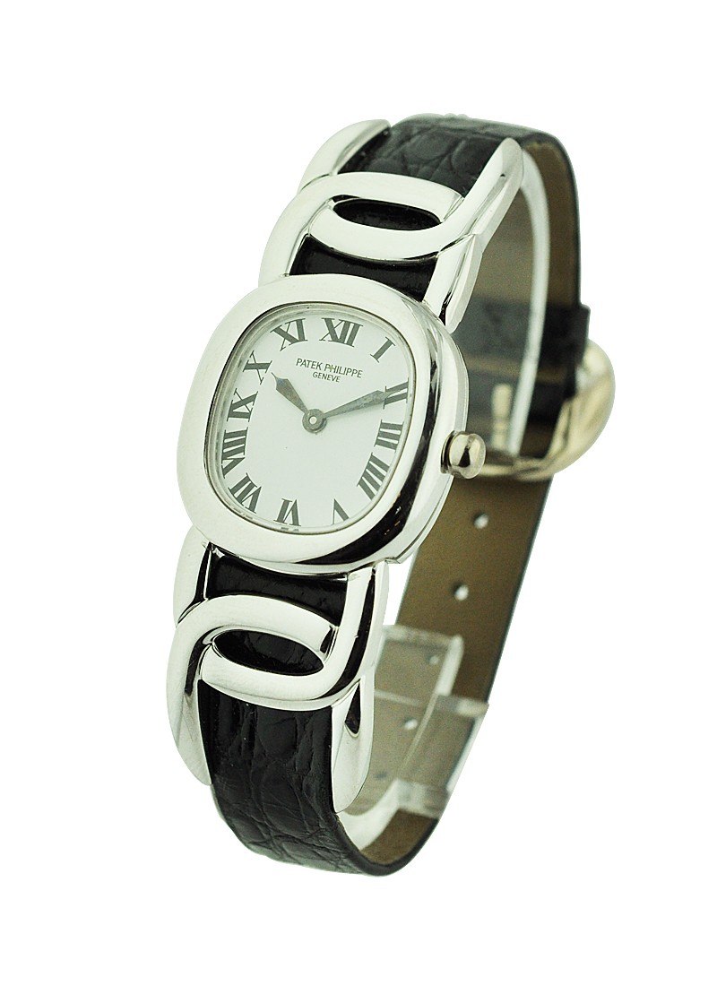 Patek Philippe Ellipse D'Or in White Gold